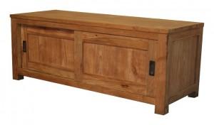 g nnen sie ihrem fernseher eine teak unterlage super. Black Bedroom Furniture Sets. Home Design Ideas